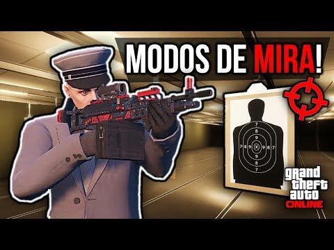 MODOS DE MIRA NO GTA ONLINE!!! (O QUE SÃO E COMO MUDAR)