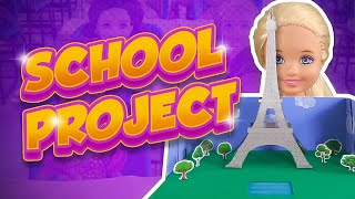 Barbie - Chelsea's School Project | Ep.198