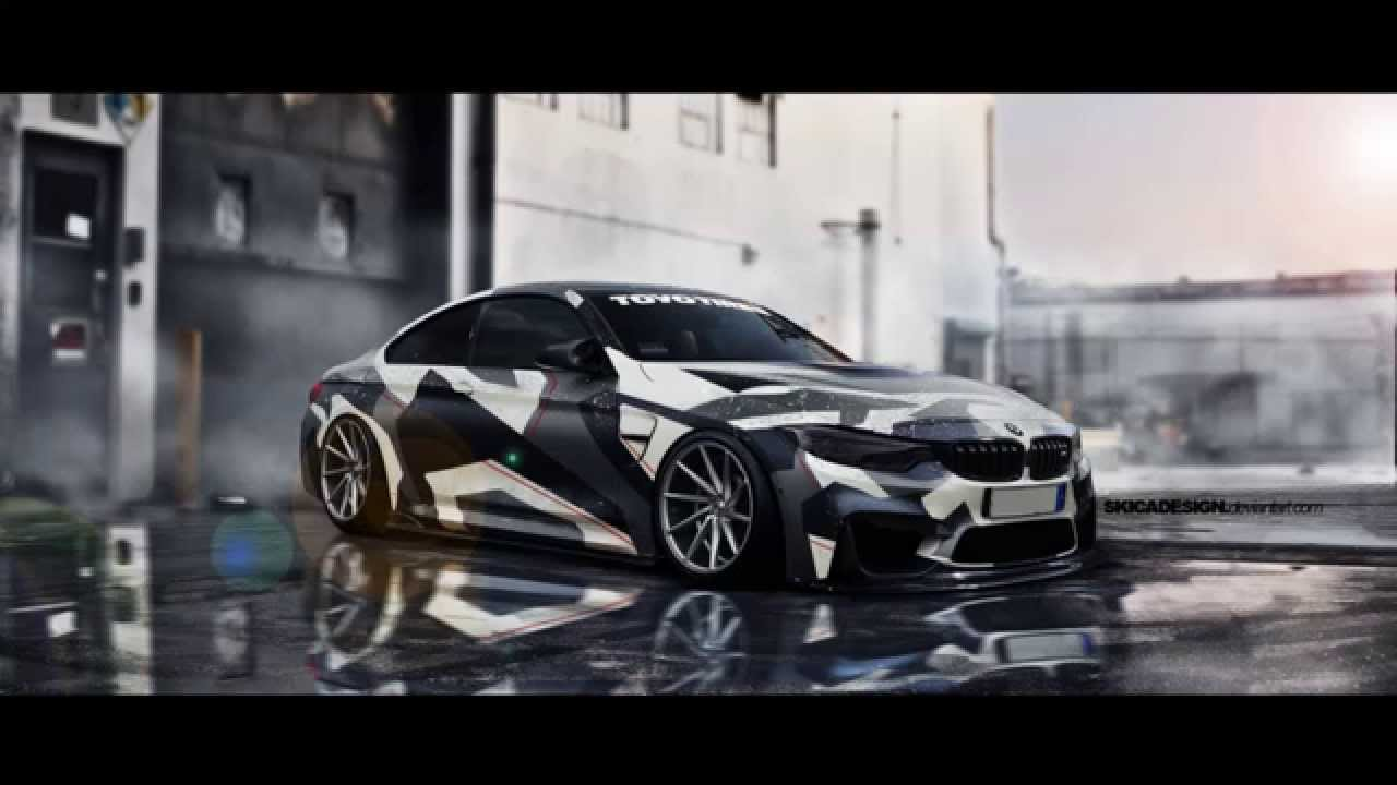 Bmw M4 Virtual Tuning Timelapse Youtube