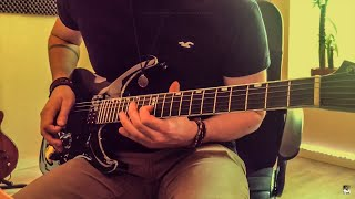 Flames - David Guetta & Sia (Electric Guitar Cover by Tanguy Kerleroux) Video