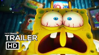 THE SPONGEBOB MOVIE 2 Official Trailer (2020) Sponge On The Run Movie HD