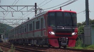 ♯67【名鉄】ニューフェイス!9500系9501F試運転 名電赤坂付近を通過