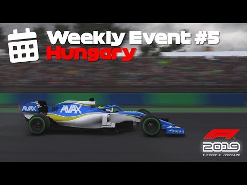 F1 2019 // Weekly Event #5 // Hungary