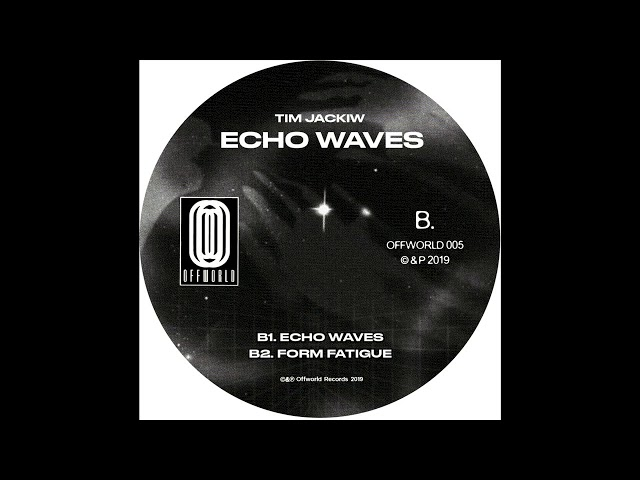 Tim Jackiw -- Echo Waves