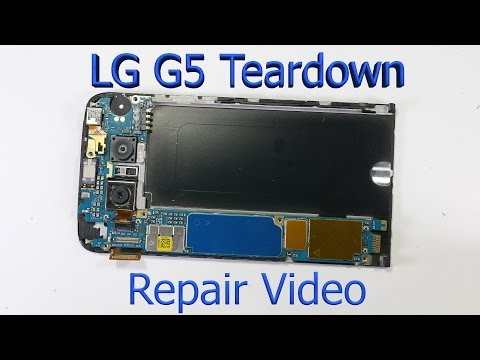 lg-g5-complete-teardown---screen-replacement---charging-port-fix