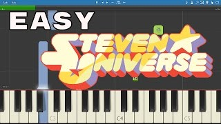 How to play Steven Universe Theme - EASY Piano Tutorial