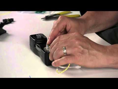 How To Terminate OptiCam LC Fiber Connectors On 900 Um Cable