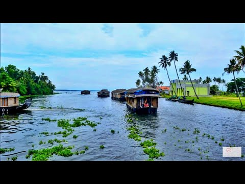 One day in Alleppey Houseboat Kerala : Indian tourism