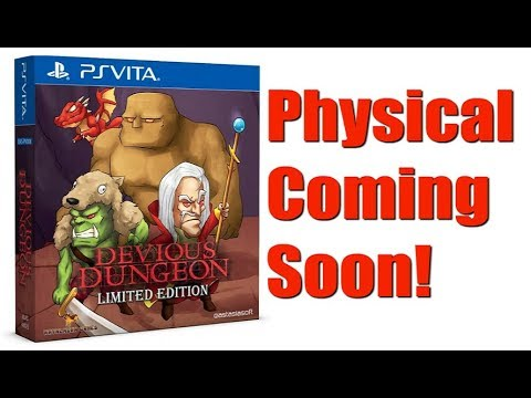 PS Vita News: Devious Dungeon Physical Coming Soon!