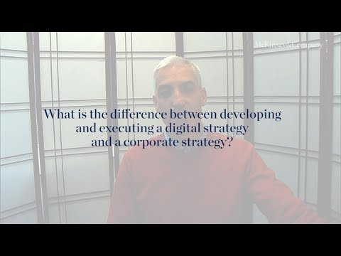What Is The Difference Between Digital Strategy And Corporate Strategy?