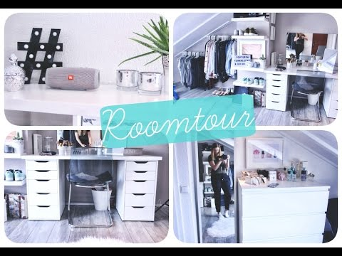 xxl roomtour diy schminktisch ikea youtube. Black Bedroom Furniture Sets. Home Design Ideas