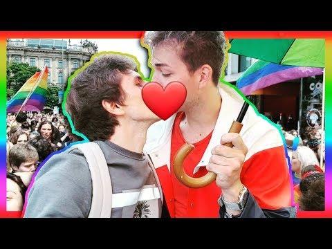 Гей-парад с моим парнем в Мюнхене