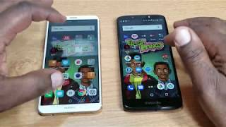 HUAWEI MATE SE vs MOTO G6 PLAY Apps Opening Comparison
