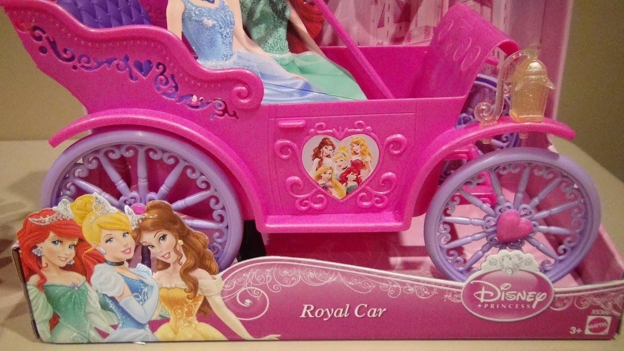Disney Princess Royal Car Video Toy Review By Mitch