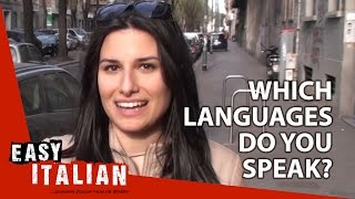 Which Languages Do You Speak? - Easy Italian 8
