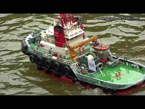 Hong Kong RC 1:40 Salvage and Towing Boat with Boat Builder Interview
