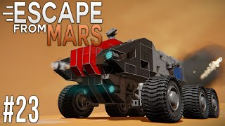 Space Engineers: ESCAPE from MARS! - Ep #23 - Ground BATTLE!