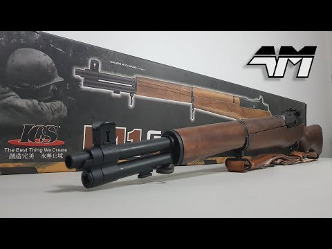 ICS M1 GARAND / Airsoft Unboxing & Review / Call Of Duty WW2
