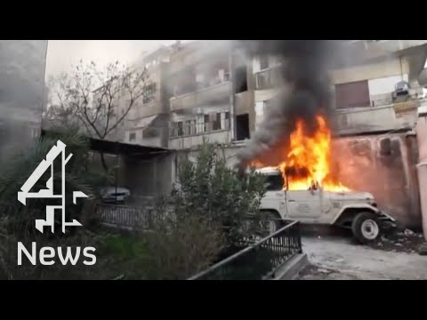 The horror in Homs: a city at war