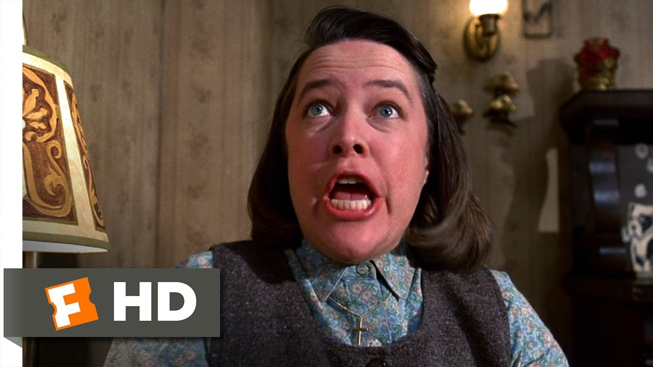 misery 212 movie clip profanity bothers annie 1990