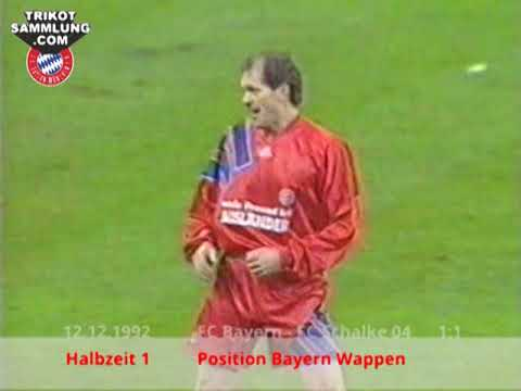 Trikot Jan Wouters vom 12.12.1992 Halbzeit 1