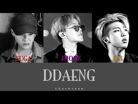 [VIETSUB] DDAENG! - RM, SUGA, JHOPE (BTS - 방탄소년단) 5th Festa 2018