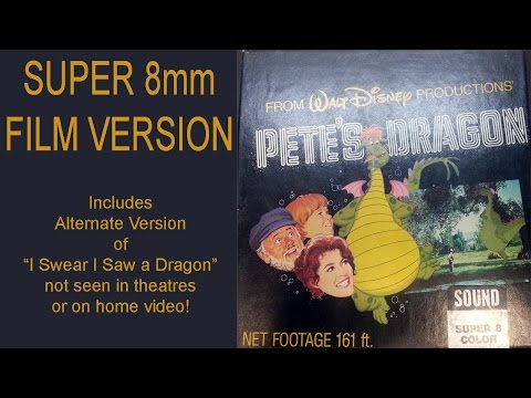 Pete's Dragon - 1977 - Super 8mm Home Version - Includes alternate song