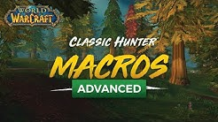 Advanced Hunter Macros (Classic WoW)