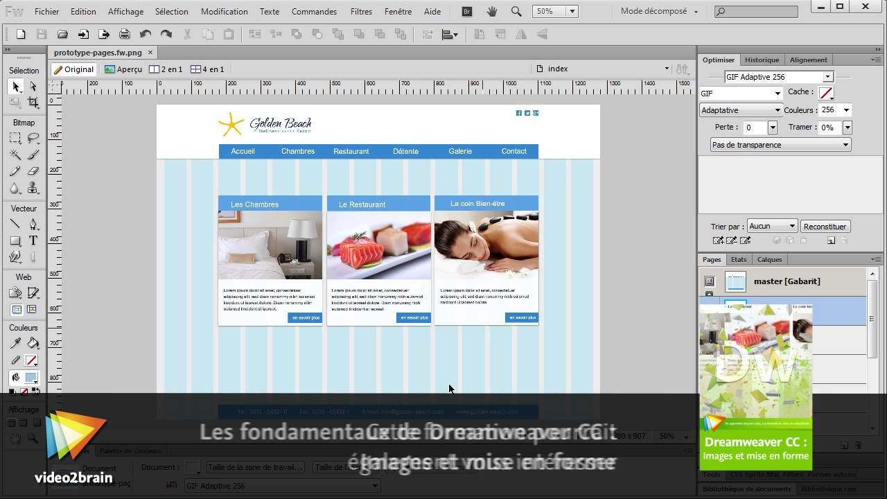video2brain dreamweaver cs6 les fondamentaux