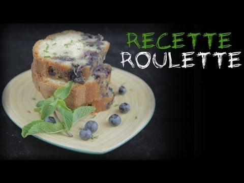 Recette : Cake aux myrtilles !