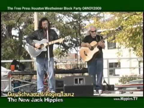Guy Schwartz & Roger Tausz at The Westheimer Block Party