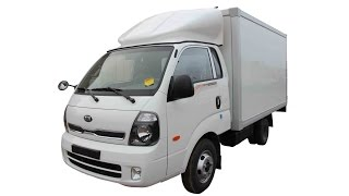 KIA Bongo 3 K4000 Рефрижераторный фургон 5С 20С, фургон 12м3, 5 европаллет