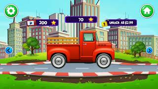 Fun Play Car Wash and Care Games For Kids - Kids Car Wash Service Auto Workshop Garage