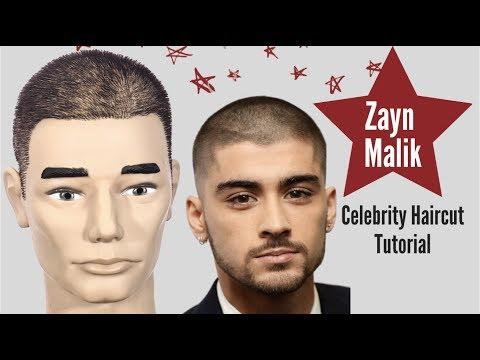 Zayn Malik Buzz Cut Tutorial - TheSalonGuy