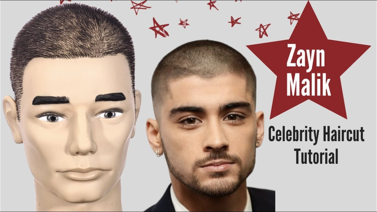 Zayn Malik Buzz Cut Tutorial - TheSalonGuy