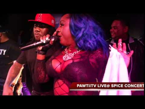 PAWTiiTV EXCLUSIVE COVERAGE OF *SPICE* LIVE IN CONCERT  410LINK MEDIA