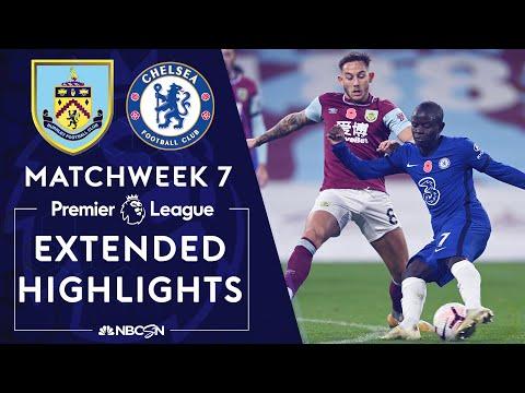 Burnley v. Chelsea | PREMIER LEAGUE HIGHLIGHTS | 10/31/2020 | NBC Sports