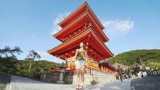 Нас выгнали из храма. Странная еда в Японии| Киото| Серия 16
