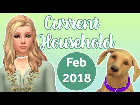 STARTING FROM SCRATCH    The Sims 4    Current Household #1 - Feb 2018