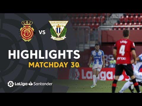 Mallorca Leganes Goals And Highlights