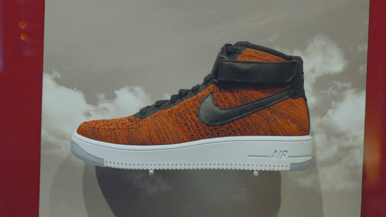 Footshop Party x Nike Air Force 1 Ultra Flyknit - YouTube a56f01ce776e