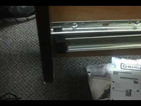Desk Drawer Repair Youtube