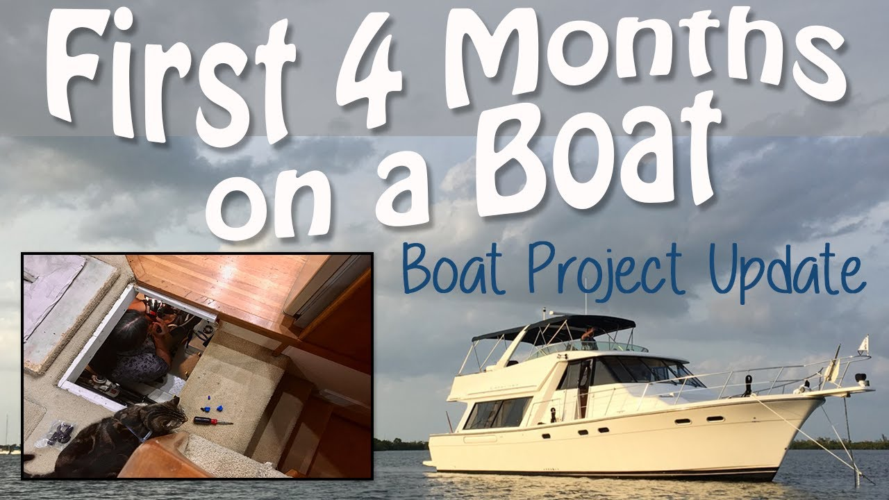 Boat Project List & Tour (4 Month Update, 1999 Bayliner 4788 Motor Yacht)