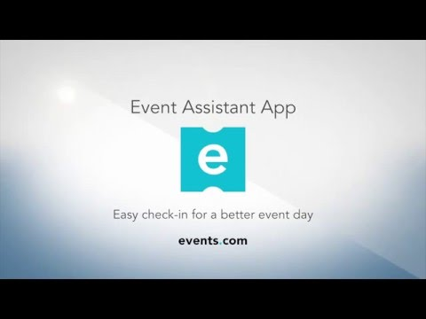 Events.com Event Assistant App