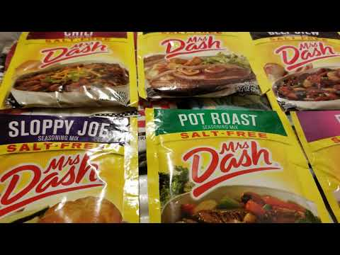 Mimi Series Mrs Dash Seasoning Packets
