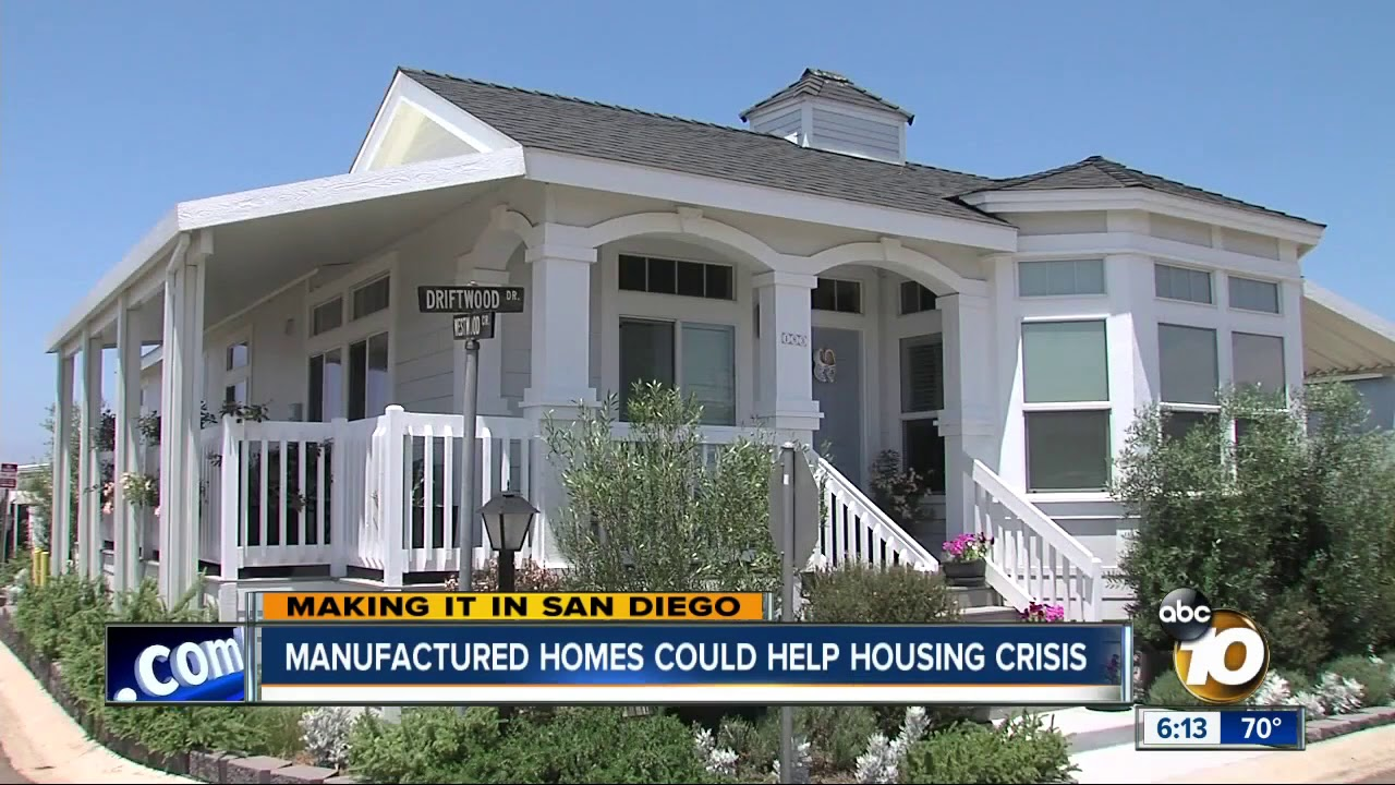 Mobile Homes Becoming More Popular In San Diego