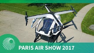 Paris Air Show 2017: The Surefly personal helicopter