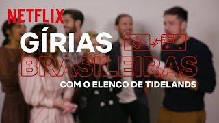 Marco Pigossi apresenta gírias brasileiras ao elenco de Tidelands | Netflix