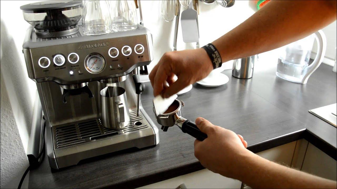 Kombi Espresso Kaffeemaschine Delongi siebrger kombi