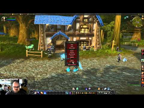 World Of Warcraft - Runs GREAT in Linux! (wine)